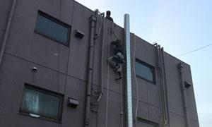 埼玉県上尾市でのダクト工事